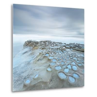 Crateres Color Cuadrada-Moises Levy-Metal Print