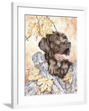 Look Back-Karen Middleton-Framed Giclee Print