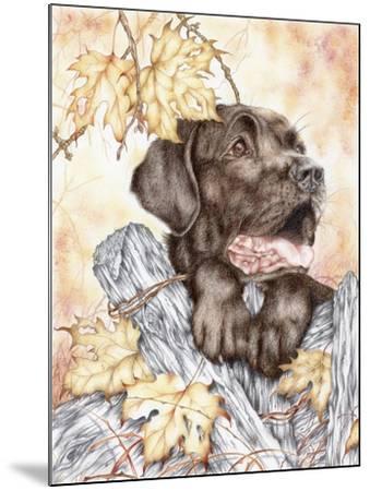 Look Back-Karen Middleton-Mounted Giclee Print