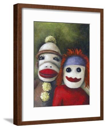 Love Socks-Leah Saulnier-Framed Giclee Print