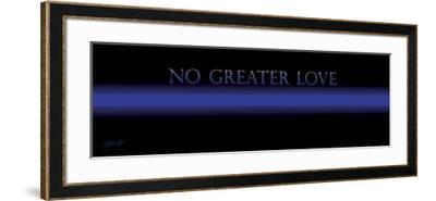 Thin Blue Line-Jason Bullard-Framed Giclee Print