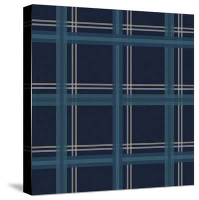 Blue Gold-Jennifer Nilsson-Stretched Canvas Print