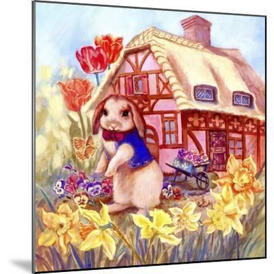 Parsley Bunny's House-Judy Mastrangelo-Mounted Giclee Print