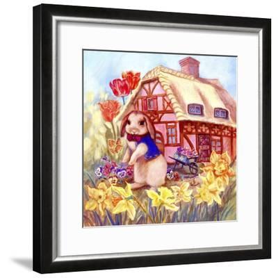Parsley Bunny's House-Judy Mastrangelo-Framed Giclee Print