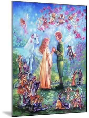 Fairy Wedding-Judy Mastrangelo-Mounted Giclee Print