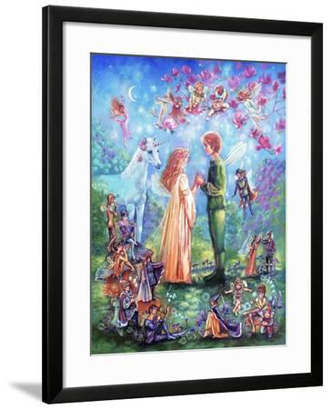 Fairy Wedding-Judy Mastrangelo-Framed Giclee Print
