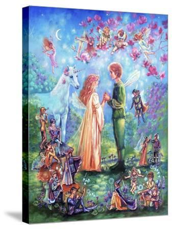 Fairy Wedding-Judy Mastrangelo-Stretched Canvas Print