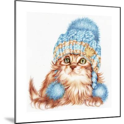 Winter Kitten-Karen Middleton-Mounted Giclee Print