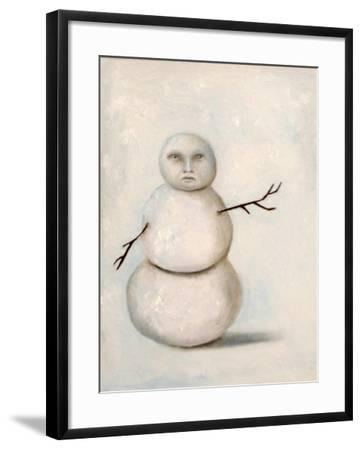 Snowman-Leah Saulnier-Framed Giclee Print