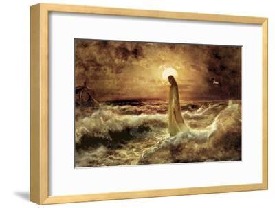 Christ on Water-Jason Bullard-Framed Giclee Print