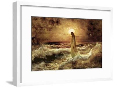 Christ on Water-Jason Bullard-Framed Premium Giclee Print
