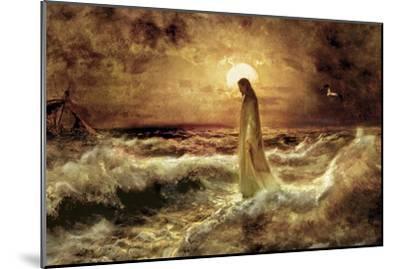 Christ on Water-Jason Bullard-Mounted Premium Giclee Print