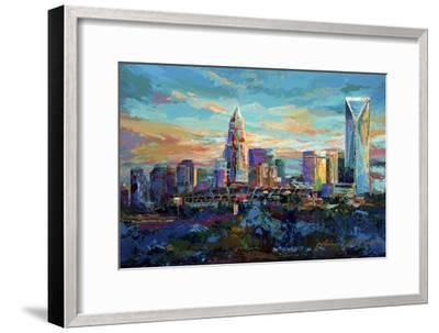 The Queen City Charlotte North Carolina-Jace D. McTier-Framed Giclee Print
