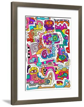 Circuits IV-Miguel Balb?s-Framed Giclee Print