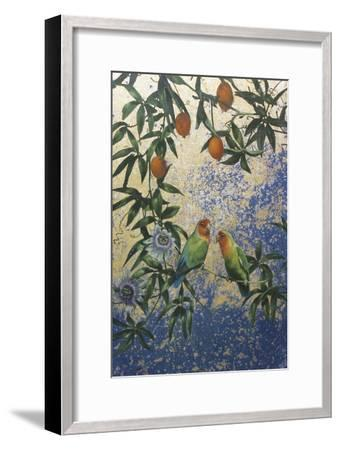 Lovebirds 1-Michael Jackson-Framed Giclee Print
