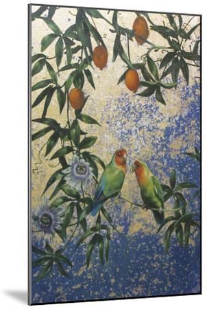 Lovebirds 1-Michael Jackson-Mounted Giclee Print