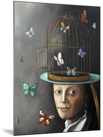 Butterfly Keeper 1-Leah Saulnier-Mounted Giclee Print