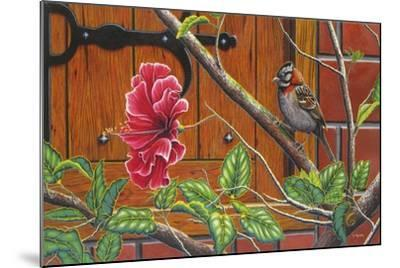 The Sparrow Who Visit Your Window-Luis Aguirre-Mounted Giclee Print