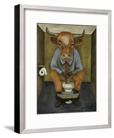 Bull Shitter-Leah Saulnier-Framed Giclee Print