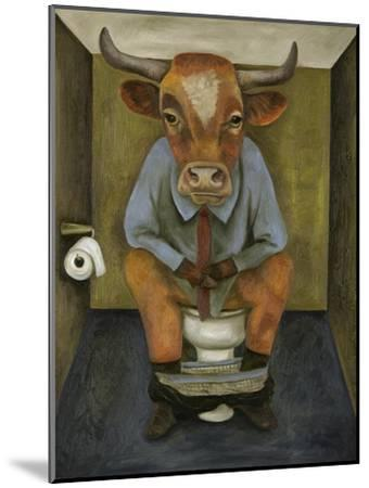 Bull Shitter-Leah Saulnier-Mounted Giclee Print