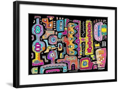 Circuits V BBG-Miguel Balb?s-Framed Giclee Print
