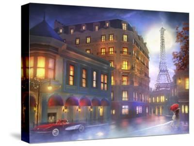 Mightnight in Paris-Joel Christopher Payne-Stretched Canvas Print