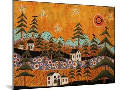Forest Refuge 1-Karla Gerard-Mounted Giclee Print