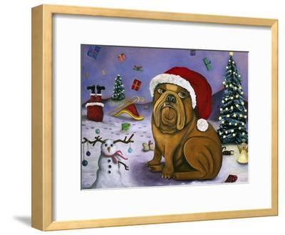 Christmas Crash-Leah Saulnier-Framed Giclee Print