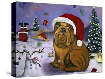 Christmas Crash-Leah Saulnier-Stretched Canvas Print
