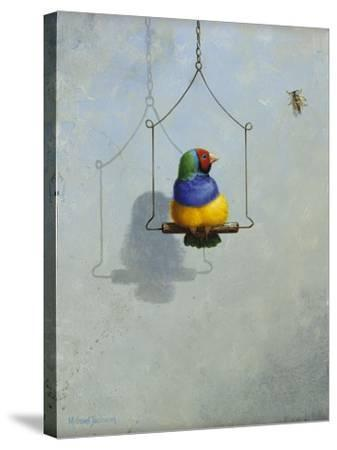 Gouldian Finch-Michael Jackson-Stretched Canvas Print
