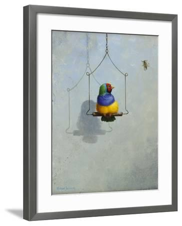 Gouldian Finch-Michael Jackson-Framed Giclee Print