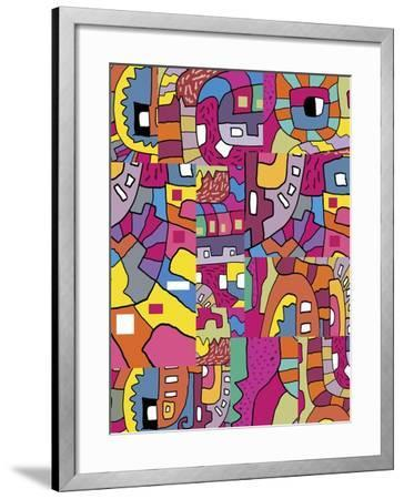 Collage I-Miguel Balb?s-Framed Giclee Print