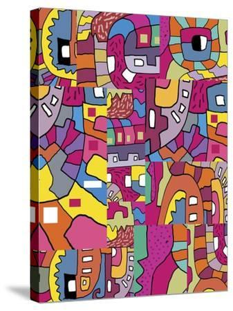 Collage I-Miguel Balb?s-Stretched Canvas Print