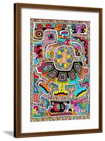 Circuits XXI-Miguel Balb?s-Framed Giclee Print