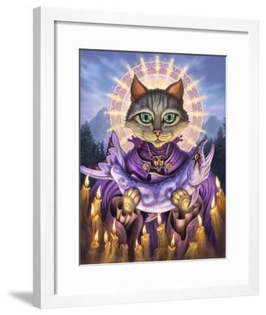 Saint of Salmons-Jeff Haynie-Framed Giclee Print