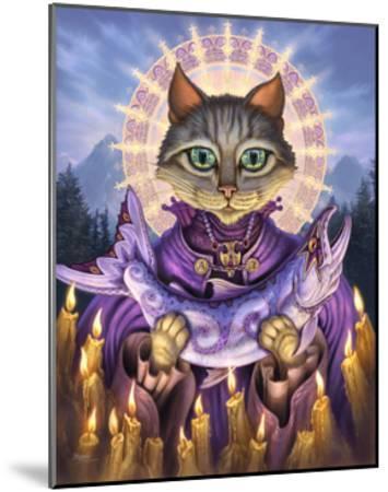Saint of Salmons-Jeff Haynie-Mounted Giclee Print