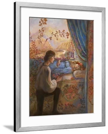 Sleeping Beauty-Judy Mastrangelo-Framed Giclee Print