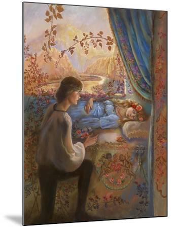 Sleeping Beauty-Judy Mastrangelo-Mounted Giclee Print