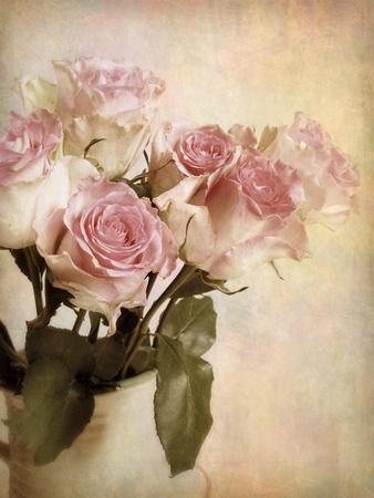 Pastel Roses-Jessica Jenney-Framed Giclee Print