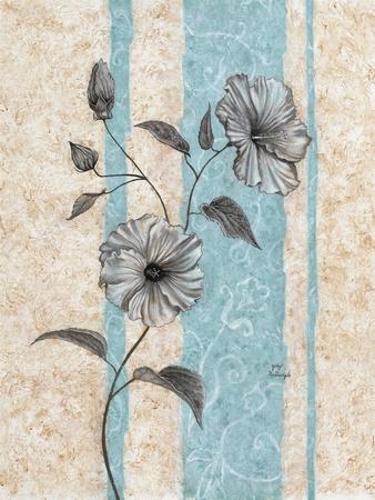 Small Hibiscus-Judy Mastrangelo-Framed Giclee Print