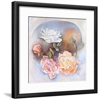 Roses-Judy Mastrangelo-Framed Giclee Print