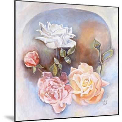Roses-Judy Mastrangelo-Mounted Giclee Print