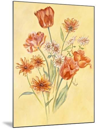 Tulips and Daisies-Judy Mastrangelo-Mounted Giclee Print
