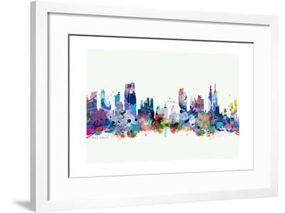 New York Mark 3-Mark Ashkenazi-Framed Giclee Print