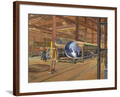 Industrial Theatre-Peter Snyder-Framed Giclee Print