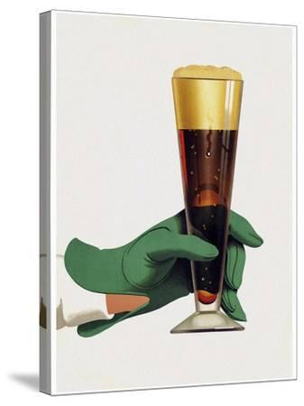 Beer 1-Vintage Lavoie-Stretched Canvas Print