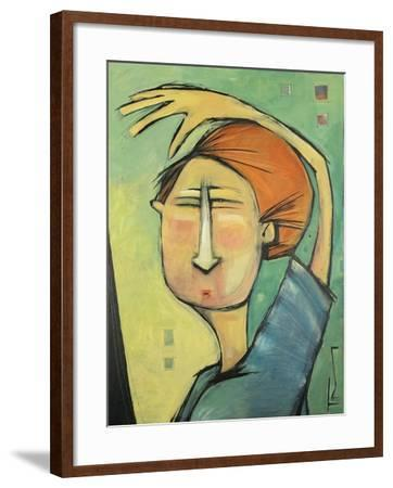 Trying to See the Future-Tim Nyberg-Framed Giclee Print