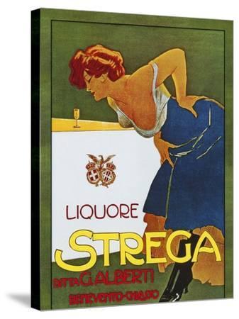 Spirits018-Vintage Lavoie-Stretched Canvas Print