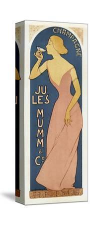 Spirits016-Vintage Lavoie-Stretched Canvas Print