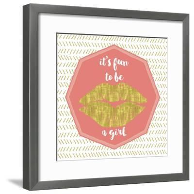 Its Fun to Be a Girl-Tina Lavoie-Framed Giclee Print